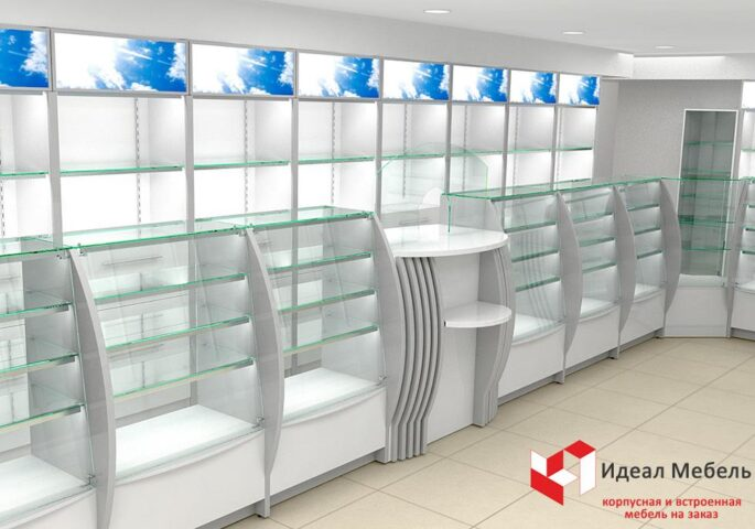 Мебель для аптеки №4