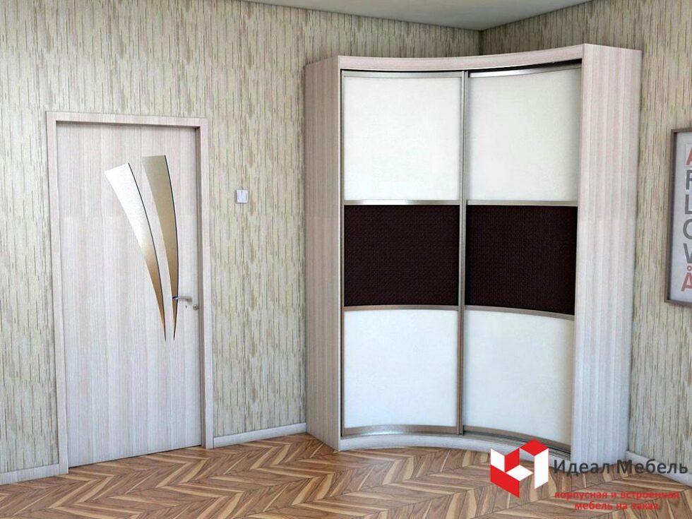 Угловой шкаф-купе №15